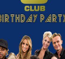 S Club 7 Birthday Card/Party Invitation Sticker