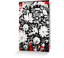 Gothic Flowers Greeting Card