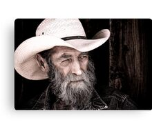Cowhand Canvas Print