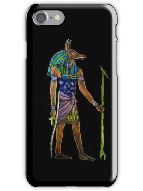 Afterlife iPhone Holder by patjila