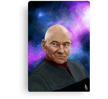 Captain Picard Canvas Print