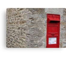 The Postbox Canvas Print
