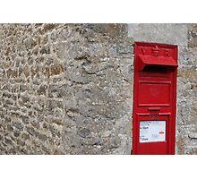 The Postbox Photographic Print