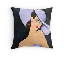 Lady Belle Throw Pillow