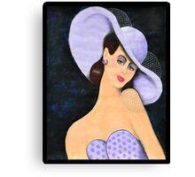 Lady Belle Canvas Print