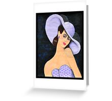 Lady Belle Greeting Card