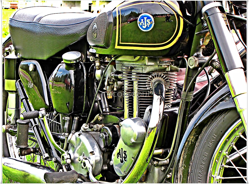 """""""Classic Motor Bikes"""" by Malcolm Chant"""
