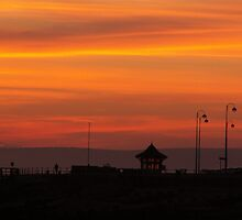 Bexhill sunset by ParadoxLost