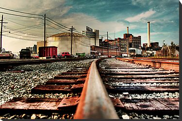 Train on Tracks by Samuel Gordon