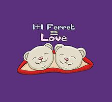 1+1 Ferret = Love by Fennic
