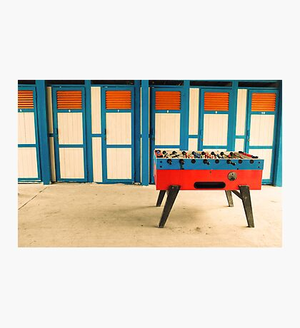 Table football Photographic Print