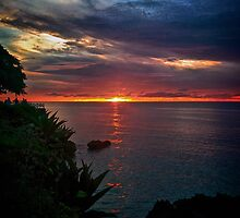Another sun sets on Tobago.  by jujushwa
