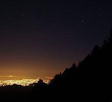 Notte stellata by Andrea Rapisarda