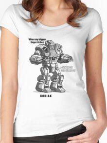kodiak Women's Fitted Scoop T-Shirt