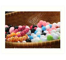 Gum balls? Naah Art Print