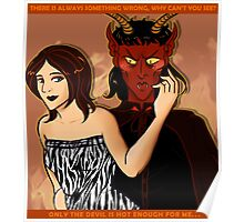 Only the Devil is Hot Enough For Me! Poster