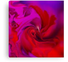 Woman in love - ABSTRACT-ART + Product Design Canvas Print
