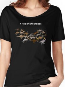 A Mob of Kangaroos Women's Relaxed Fit T-Shirt