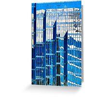 City Abstract no 11 Greeting Card