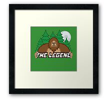 The Legend 02 Framed Print