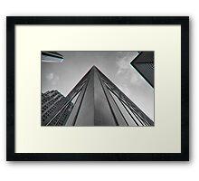 City Skyscraper Framed Print