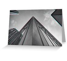 City Skyscraper Greeting Card