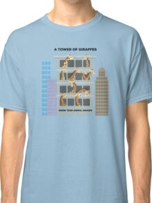 A Tower of Giraffes Classic T-Shirt