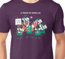 A Troop of Gorillas Unisex T-Shirt