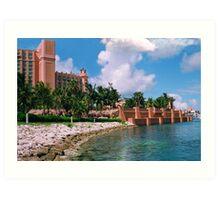 Atlantis Hotel, Nassua Bahamas Art Print