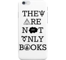 They Are Not Only Books iPhone Case/Skin