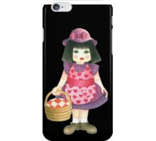 pink doll iPhone Case/Skin