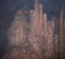 Bridal Cave Formations by Emily Kraisinger