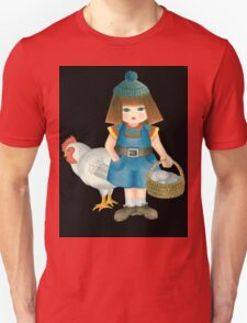 doll and chicken Unisex T-Shirt
