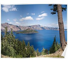 Summer Time At Crater Lake Poster