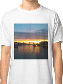 Tower Bridge Backlit Classic T-Shirt