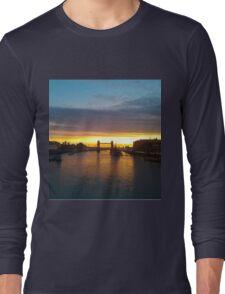 Tower Bridge Backlit Long Sleeve T-Shirt