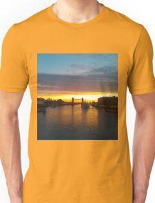 Tower Bridge Backlit Unisex T-Shirt
