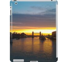 Tower Bridge Backlit iPad Case/Skin