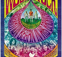 Woodstock Vintage Poster by phantastique