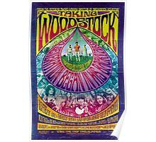 Woodstock Vintage Poster Poster