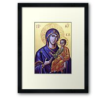 Mary Icon Framed Print