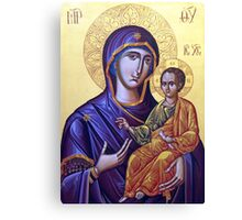 Mary Icon Canvas Print