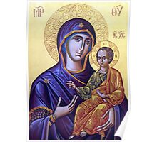 Mary Icon Poster