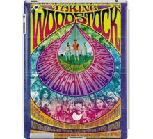 Woodstock Vintage Poster iPad Case/Skin