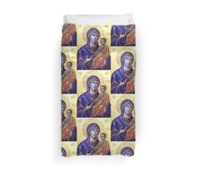 Mary Icon Duvet Cover