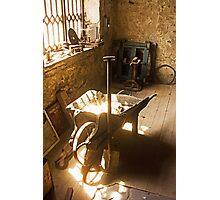 Old workshop Photographic Print