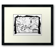House of Hades Framed Print