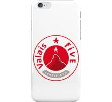 VALAIS 5 iPhone Case/Skin