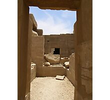 Egyptian Blocks Photographic Print