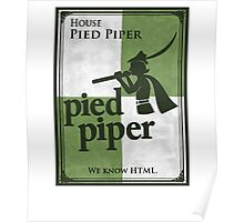 House Pied Piper Poster